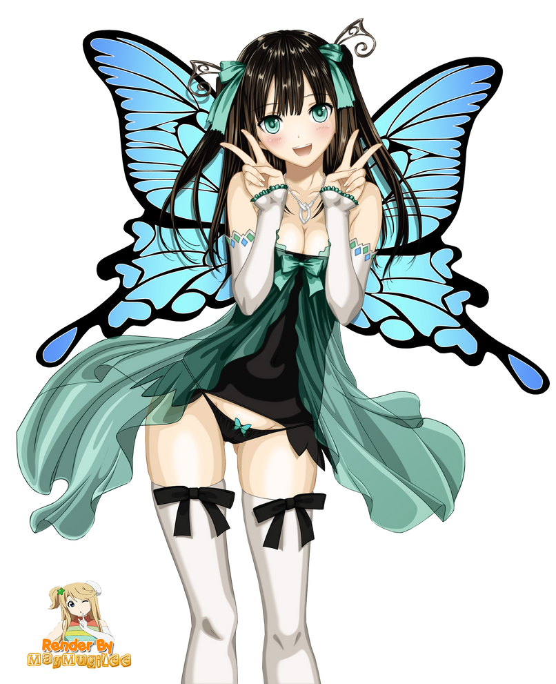 Cute Anime Fairy Render  Complete By MayMugiLee On DeviantArt