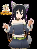 Azusa Halloween Render by MayMugiLee