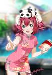 Montaje Ruby Kurosawa en UR Nico China Dress