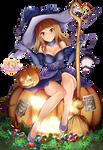 Karen Witch Halloween Render