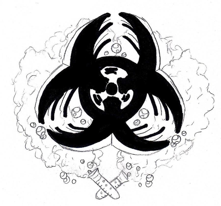 biohazard tattoo concept by hlh015 on deviantart. Black Bedroom Furniture Sets. Home Design Ideas