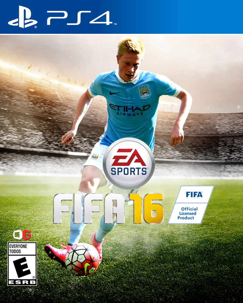 Kevin De Bruyne FIFA 16 Cover By CustomCover On DeviantArt