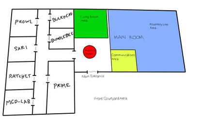 Autobot Base Floor Plans