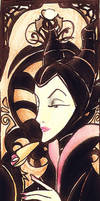 Maleficent Bookmark