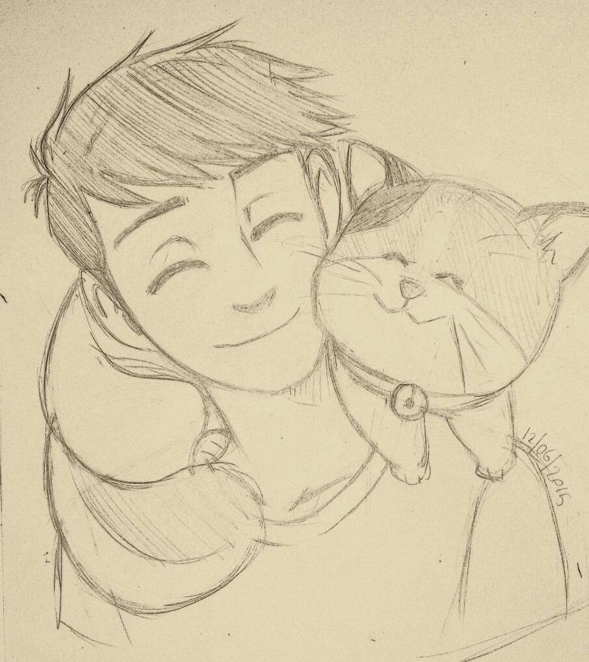 Tadashi and Mochi  by Haruhi85
