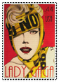 gaga stamp by kelly--bean