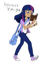 Twilight Sparkle - Anime Design by Sonito1992
