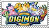 Digimon stamp by ChershireHatter
