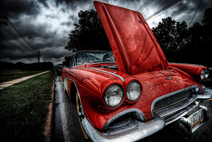 HDR Old Corvette by braxtonds