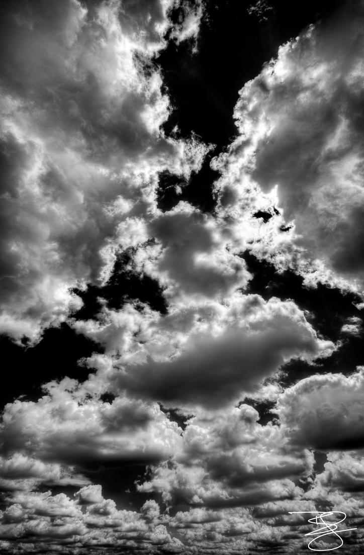 Black and White Clouds...