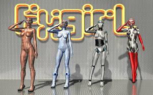 FxGirls quartet by AgniDog