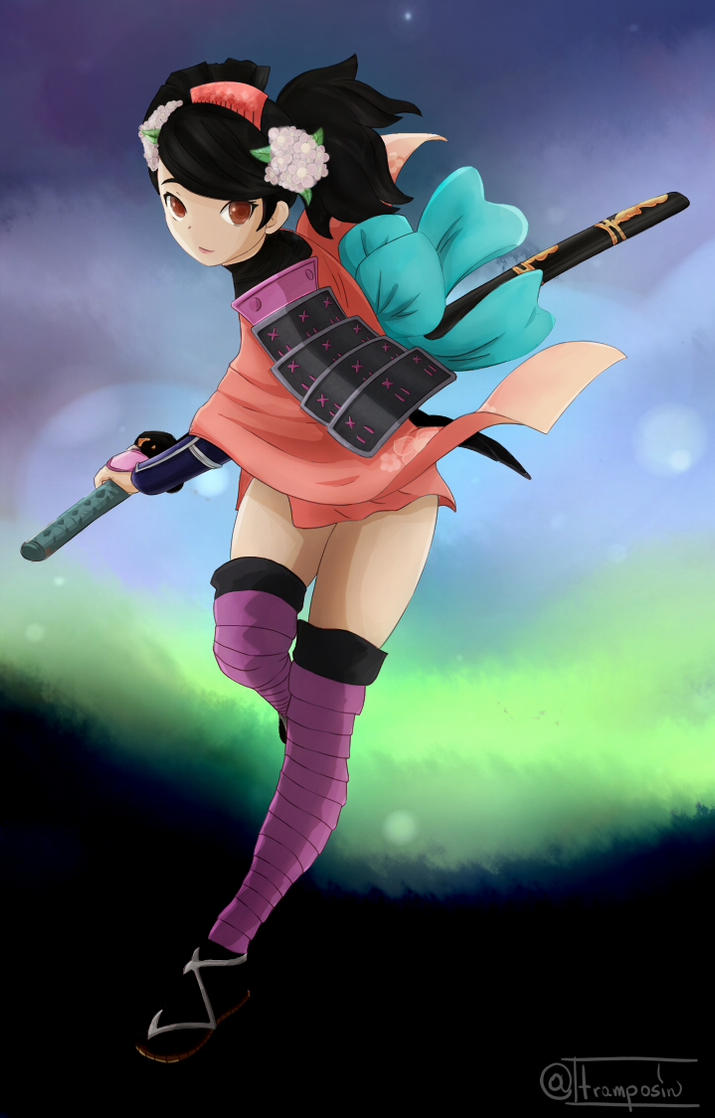 Momohime by tramposin