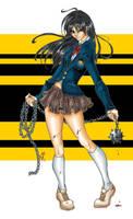 Gogo Yubari from Kill Bill