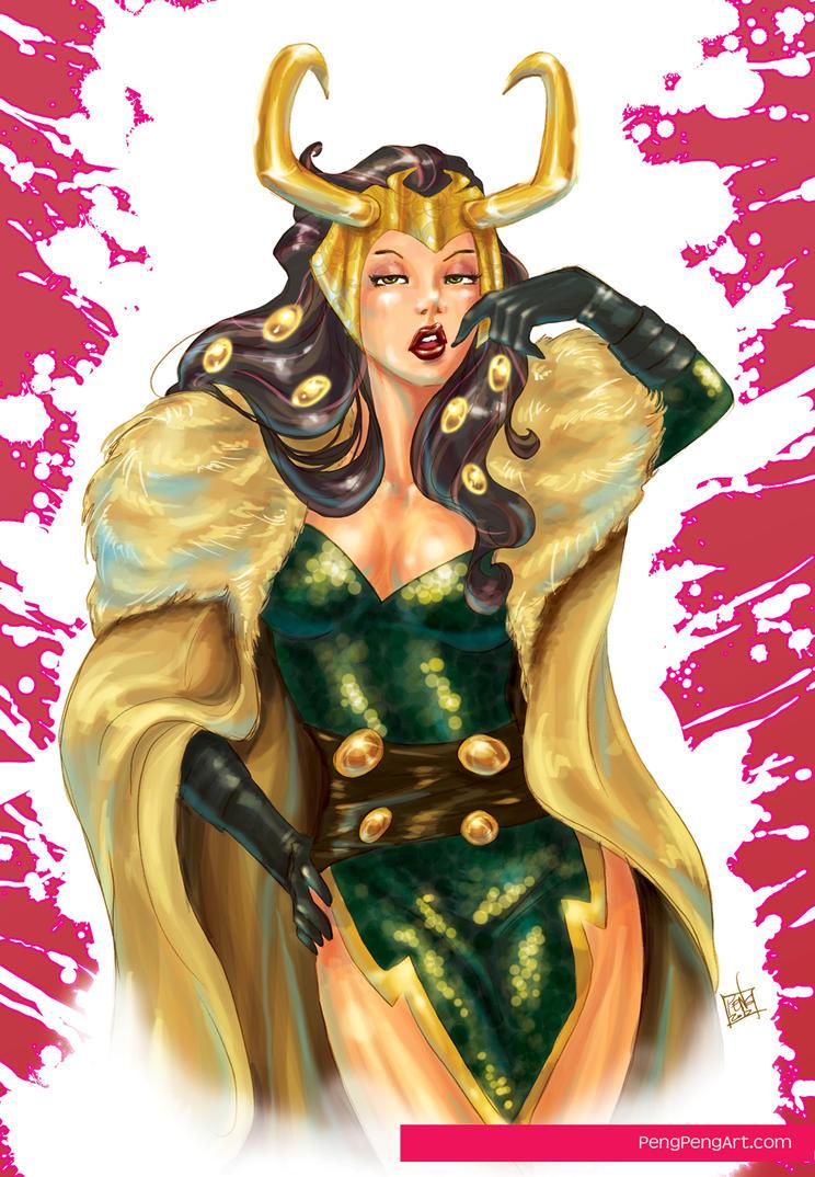 Lady Loki by Peng-Peng