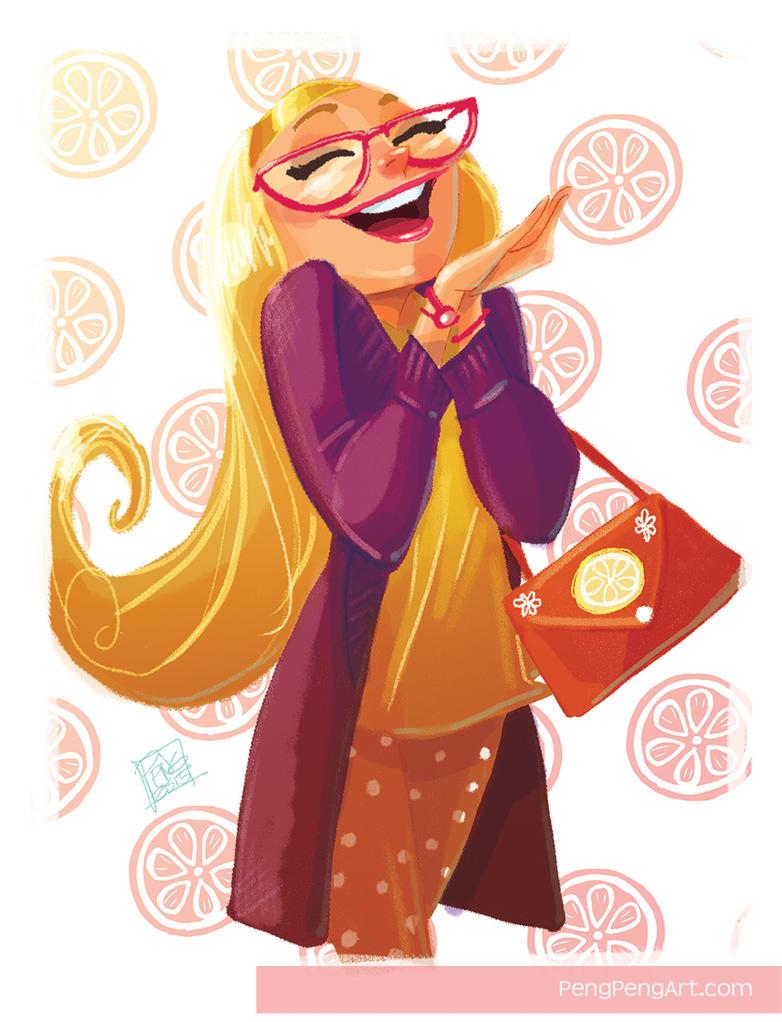 Cartoon Characters 21st Century : Honey lemon by peng on deviantart