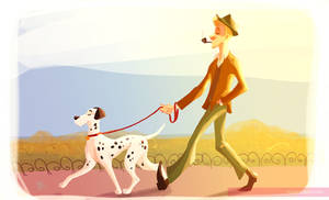 pongo and his pet