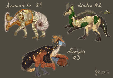 Paralogos Guest Artist Event Adopts (1/3 open) by RainEterni