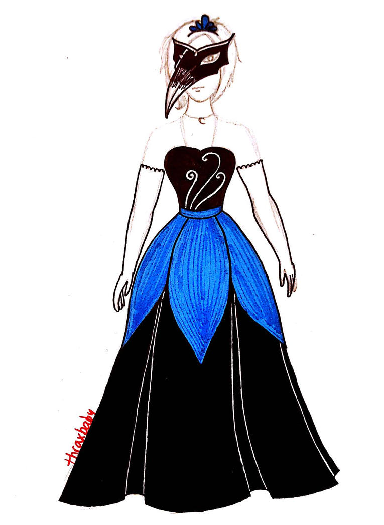 Masquerade Ball Gown by thraxbaby on DeviantArt