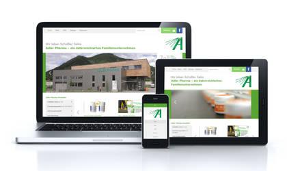 Adler Pharma (Relaunch, Responsive) by pinzweb