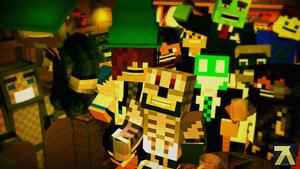 Minecraft - La Saint Patrick