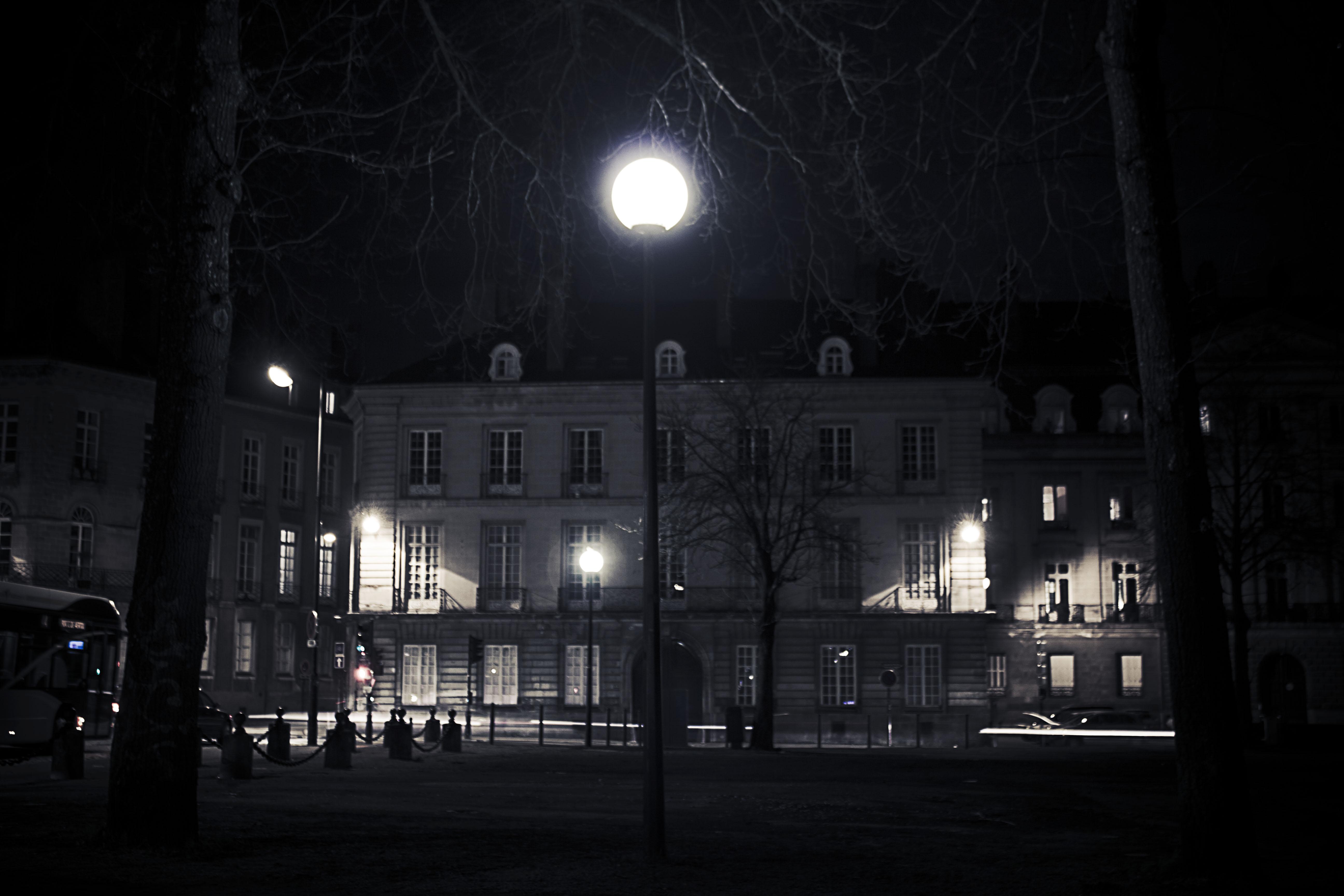 Le lampadaire Nantais
