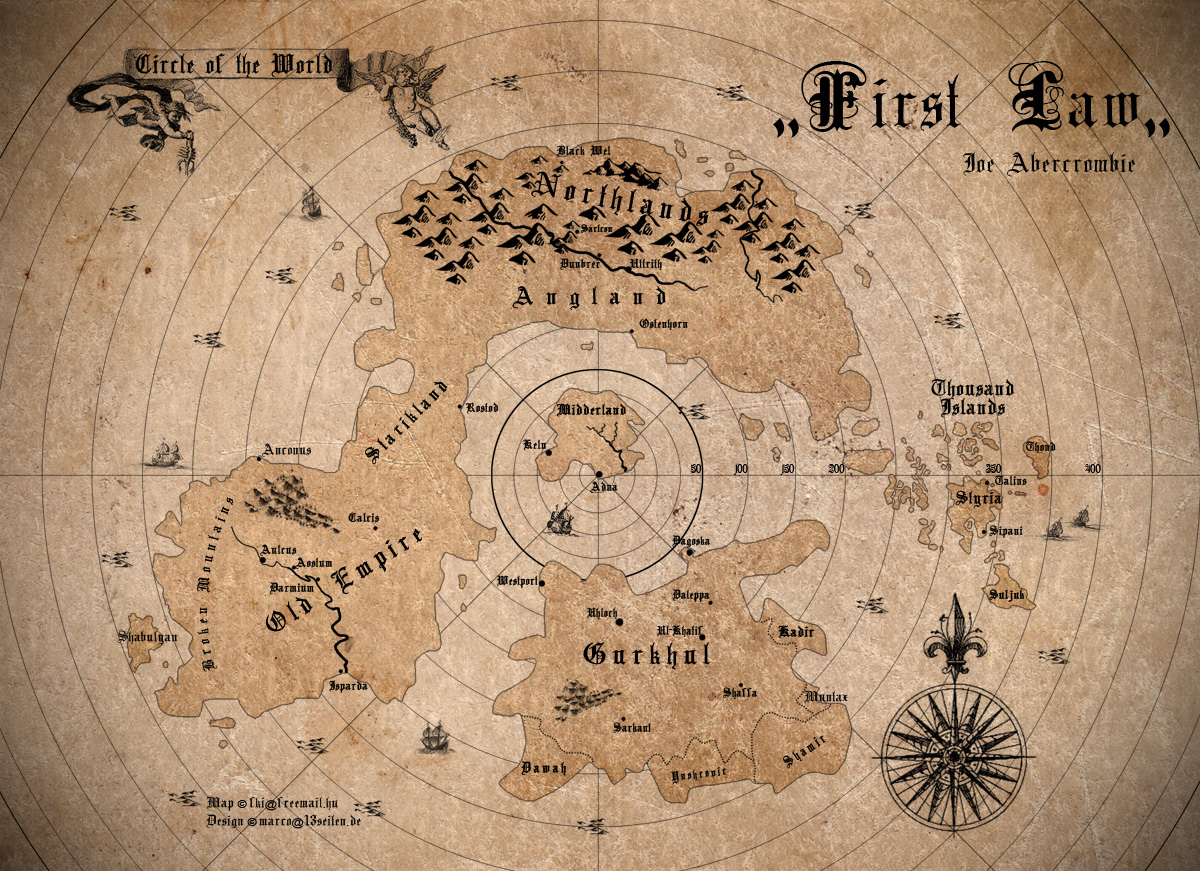 Map First Law By Scubamarco Map First Law By Scubamarco