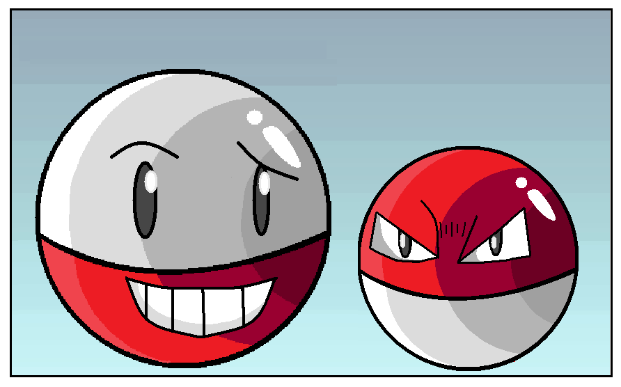 electrode and voltorb - photo #2