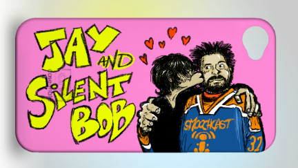 Jay and Silent Bob Case Design final product by alberic