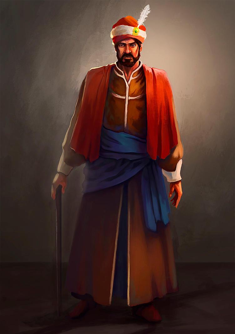 Ottoman Pasha by gkn86