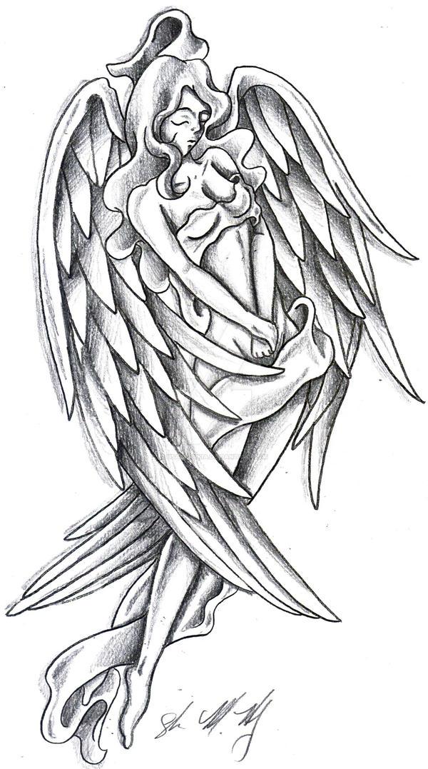 bbedc4a90eb3b Angel Pinup by Usagi-Rukia on DeviantArt