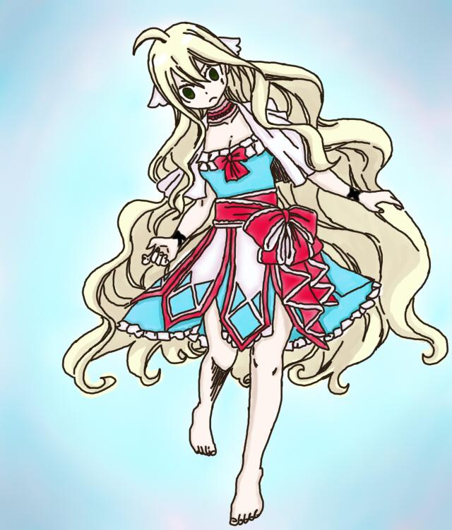 Mavis new dress by ichirukibiggestfan