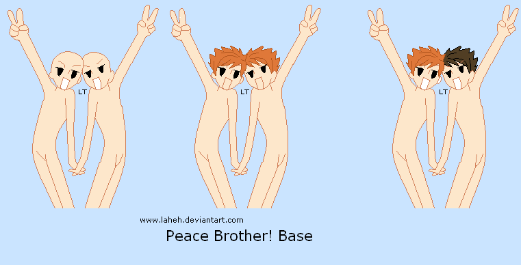 Ouran - Peace Brother Base by LahEh