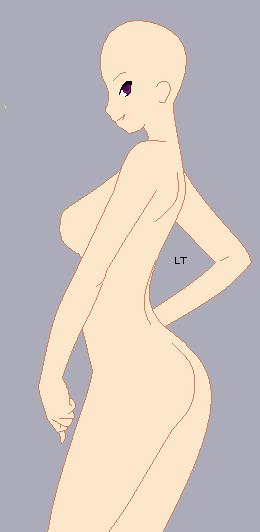Sexy Vixen Base by LahEh