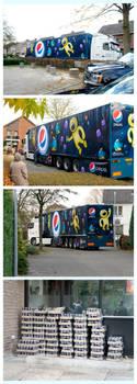 Pepsi truck