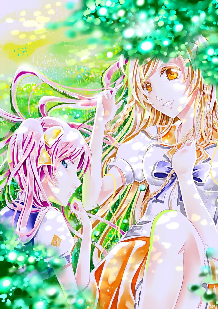 Haruka and Mirai Suenaga by Risa1