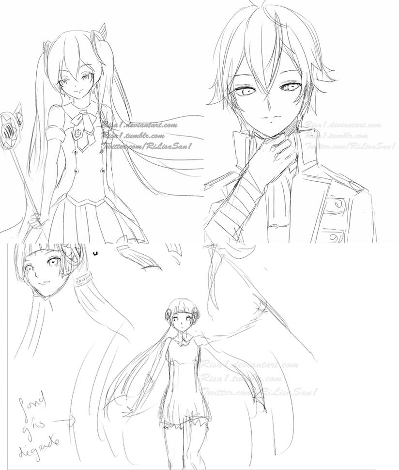 Sketches by Risa1