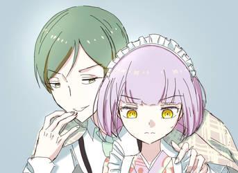Masaki and Neko