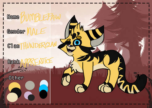 Got the Eyes of An Eagle! | Bumblepaw App | ANP by Winter5587