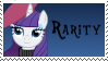 Rarity Stamp by Spartkle