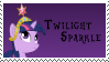 Twilight Sparkle Stamp by Spartkle