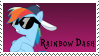 Rainbow Dash Stamp by Spartkle