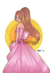 Lady in Gown by NesSelene