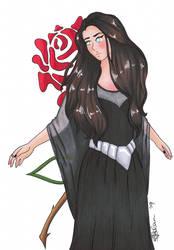 Drawing Tarja from Nightwish by NesSelene