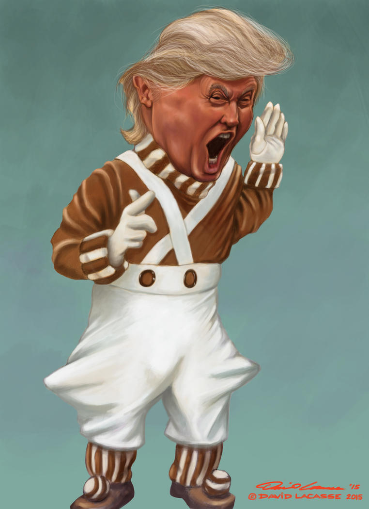 Donald Trump - Angry Oompa Loompa by David-Lacasse on DeviantArt