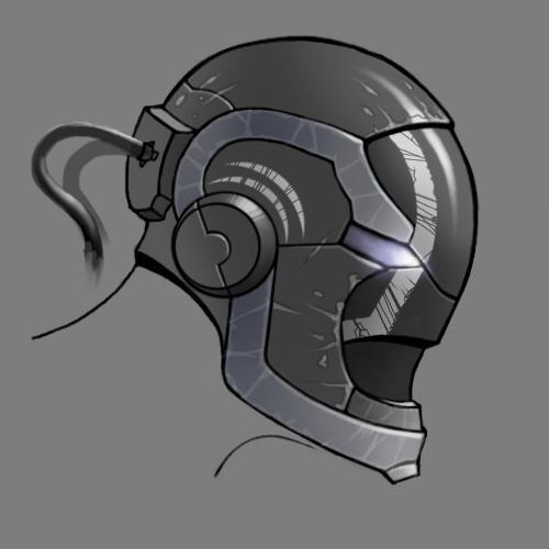 Futuristic Helmet By Nfwar On Deviantart