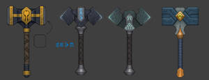 Dota 2: Hammers for Omniknight