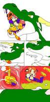Dragon eats Katt