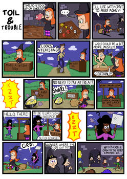 Toil and Trouble episode 2