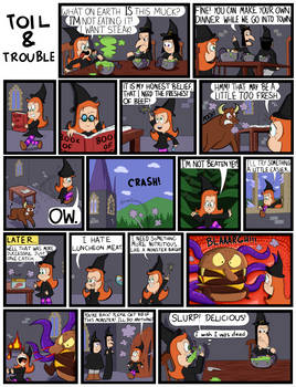 Toil and Trouble episode 3
