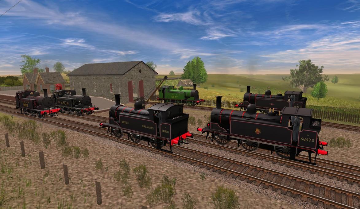 LNER J83 Released! by Old-Freddy
